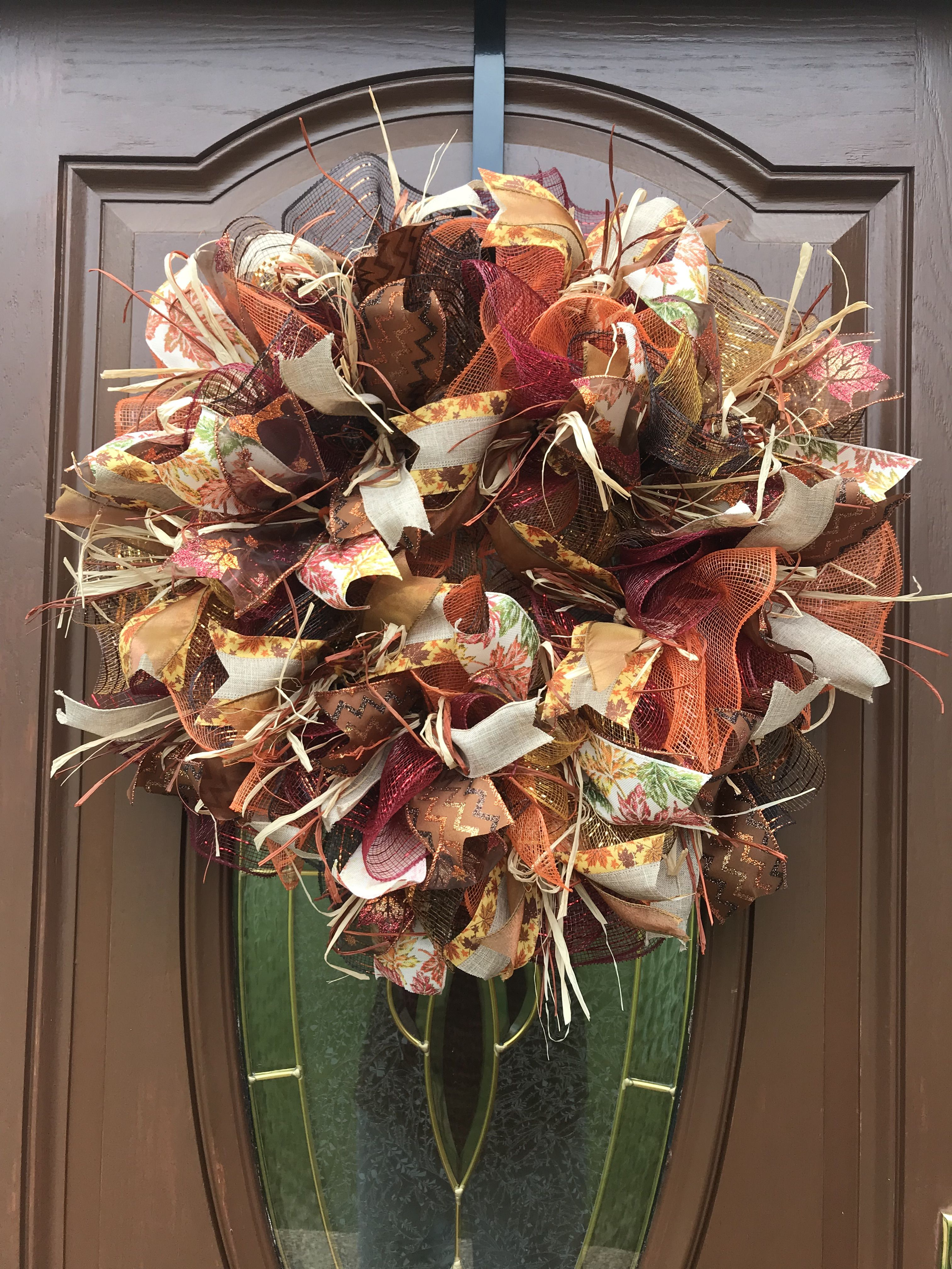 Use For Your Front Door Or A Centerpiece This Fall