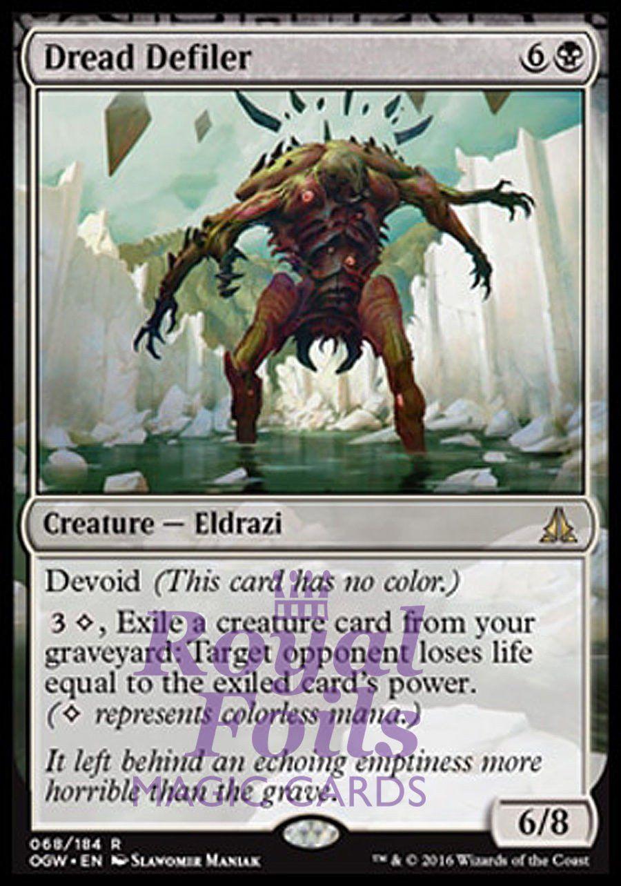 Eldrazi Displacer Near Mint Normal English Oath of the Gatewatch Magic Card MTG
