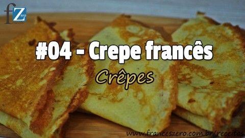 Hoje vamos realizar os deliciosos crêpes franceses! Para eles ficarem leve e saborosos iremos colocar um ingrediente bem particulares. Assista o vídeo para descobrir qual é?! Você vai se surpreender com o resultado! Bon appétit à tous!