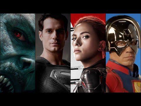 Jeder kommende Superheldenfilm im Jahr 2021!
