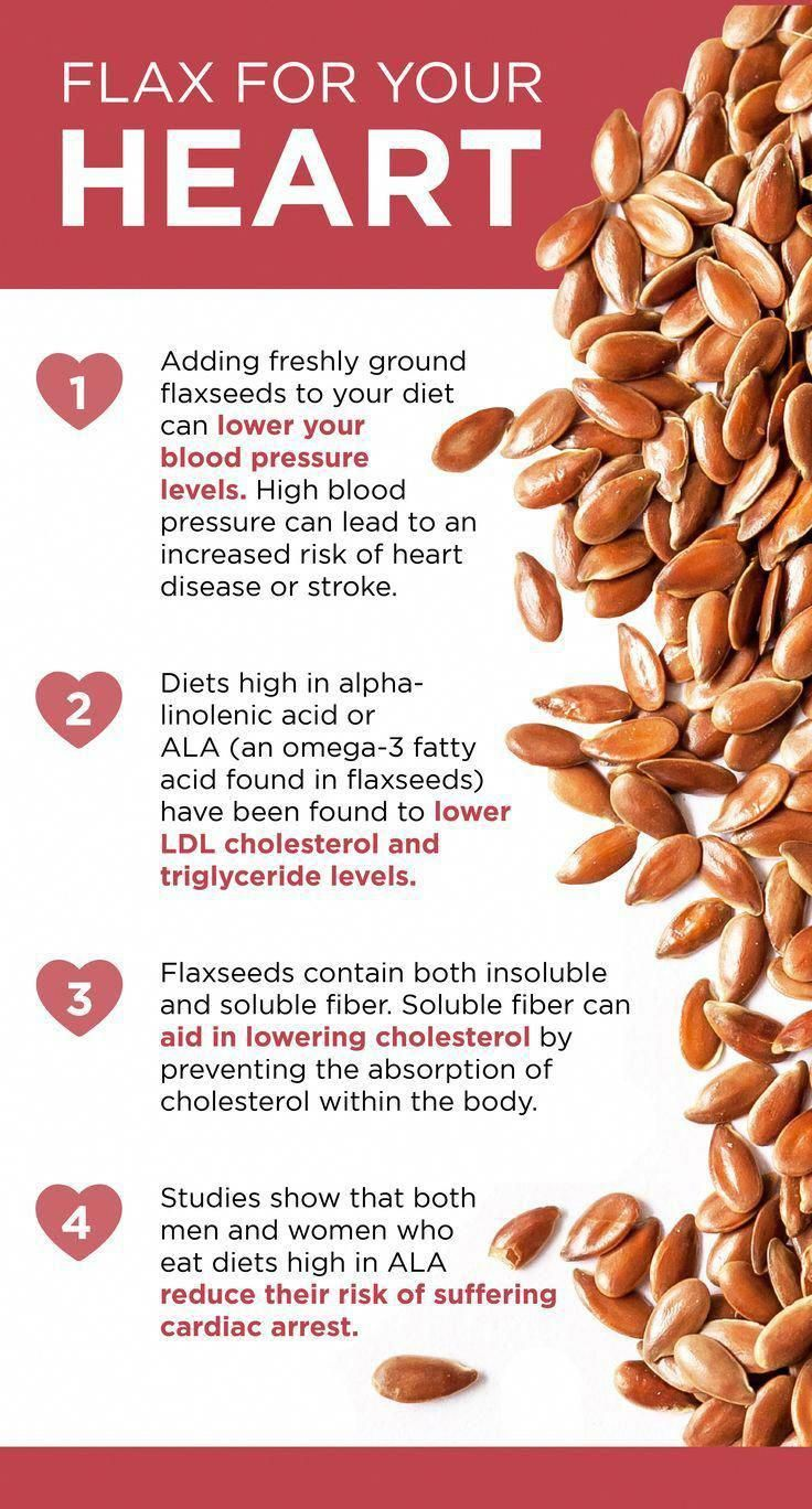 One of the best ways to keep your heart healthy is through the foods you eat. Flaxseeds are great fo...