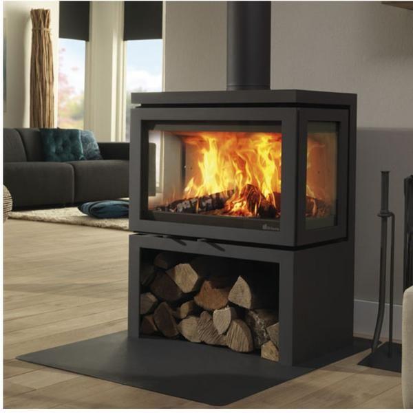 Dik Geurts Vidar Triple Stove Best Electric Stove Fire