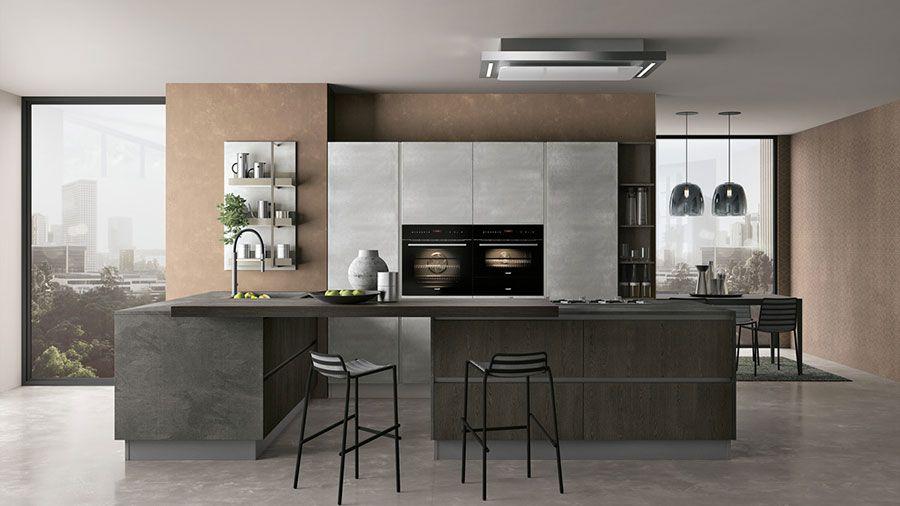 Cucine Moderne Bianche E Grigie Lube.20 Modelli Di Cucine Bianche E Grigie Moderne Arredamento
