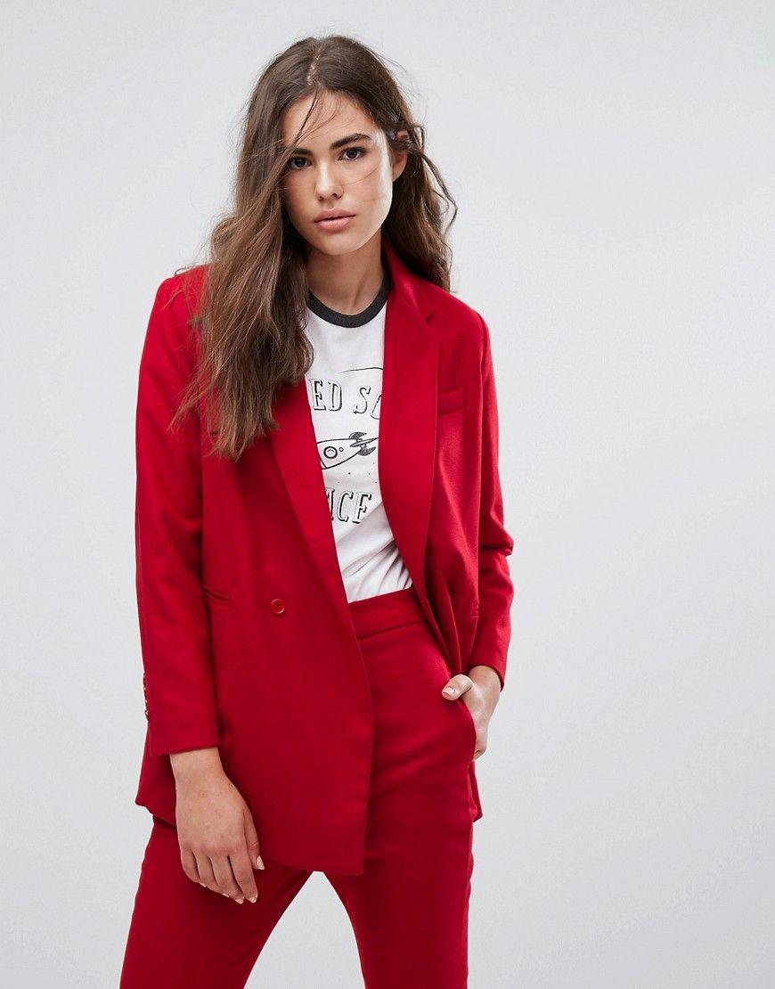 Pepe jeans rote jacke