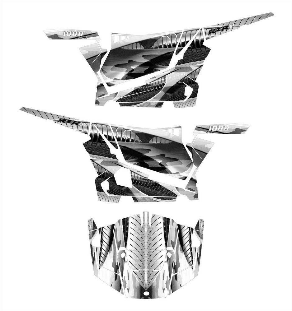 Details about Polaris RZR 1000 graphics wrap kit Pro Armor OEM