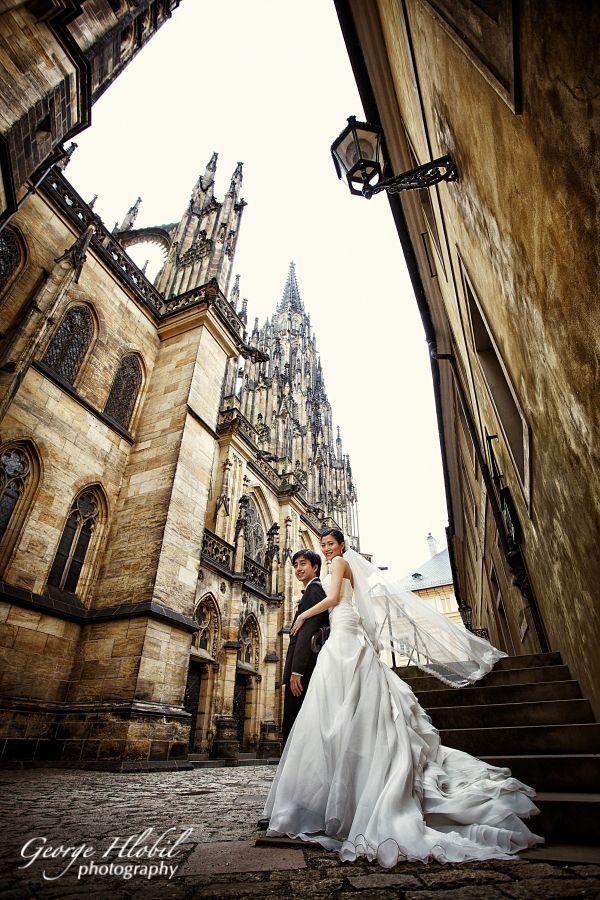 Prague wedding photography Overseas wedding photo