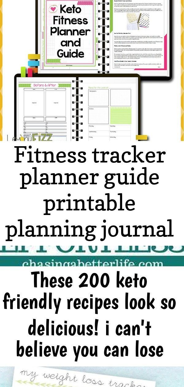 #fitness #Guide #Journal #Planner #planning #Printable #Tracker Keto Tracker and Planner Guide Bulle...