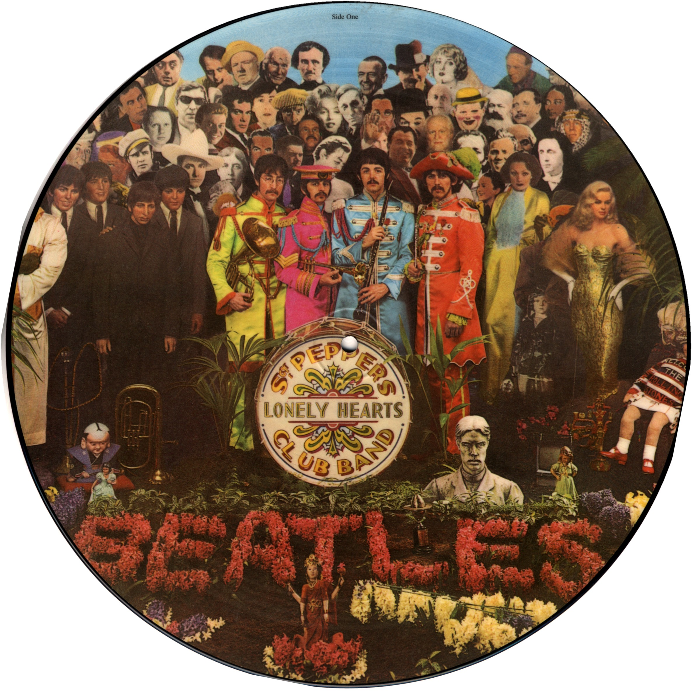 The Beatles Sgt Pepper S Lonely Heats Club Band Picture