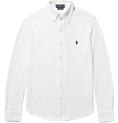 Polo Ralph Lauren OXFORD - Skjorta - polo black
