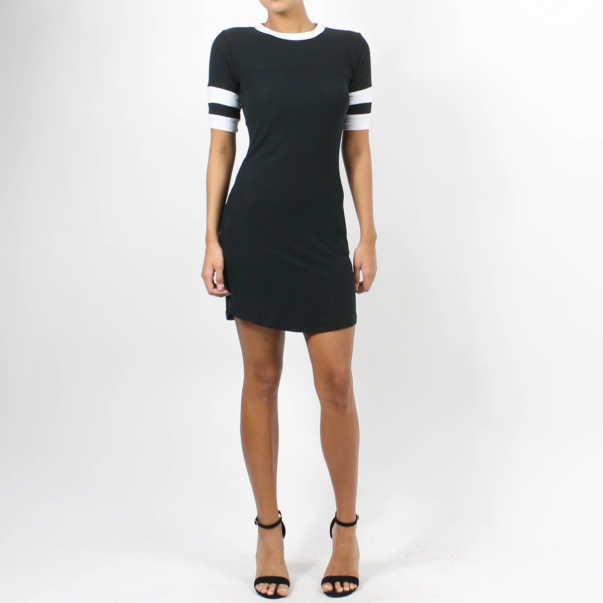 Grid Iron Mini Dress