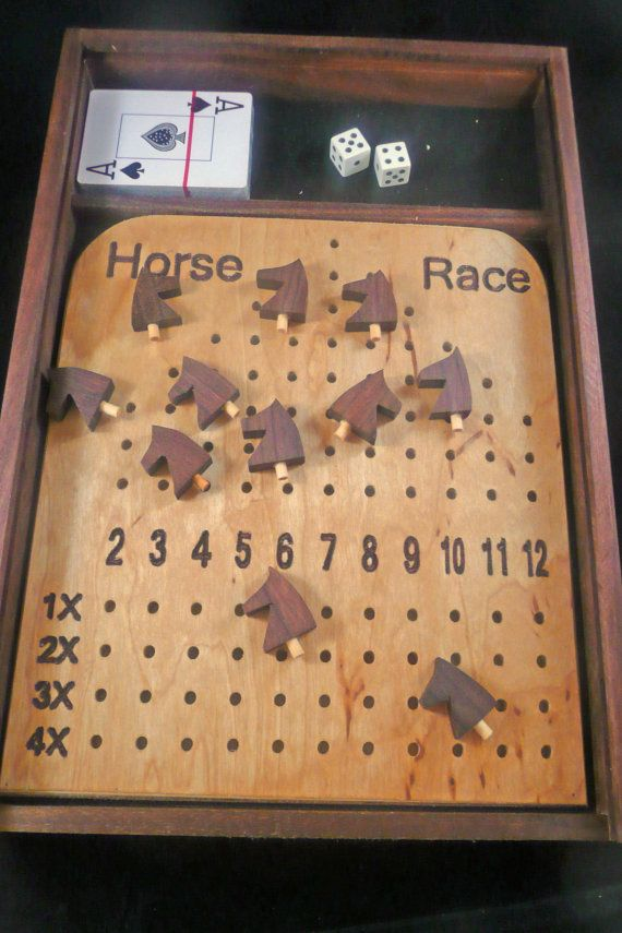 Deluxe Horse Race Game Cool Ideas Pinterest Horse Race Game Magnificent Wooden Horse Racing Game