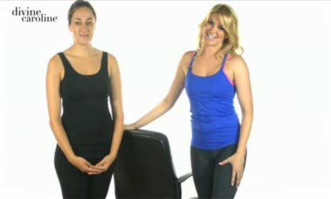 10 yoga stretches to do at your desk  pilates workout