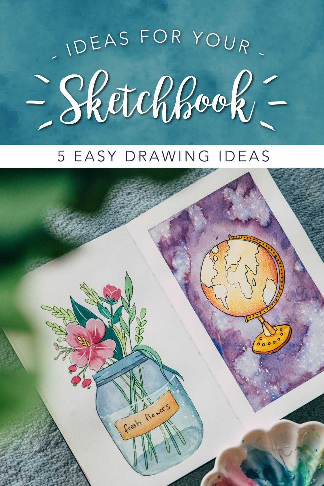Sketchbook Ideas For Beginners And Artists With Images Sketch