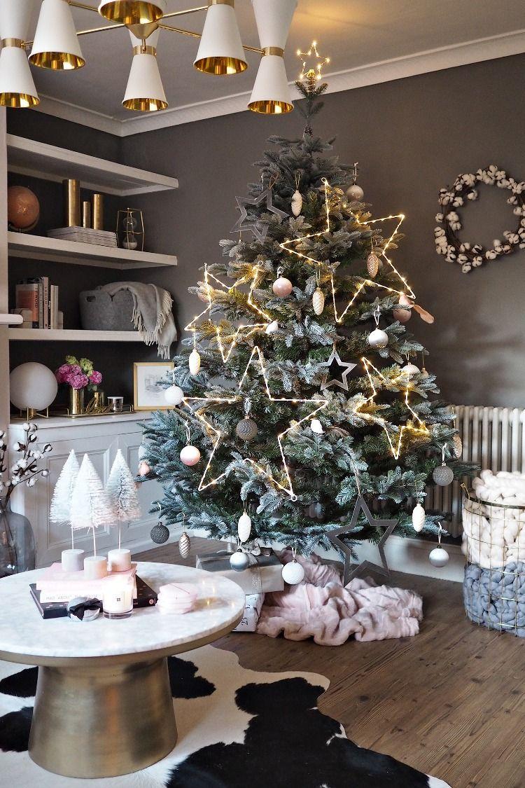 Scandi Blush Christmas Scandi christmas decorations