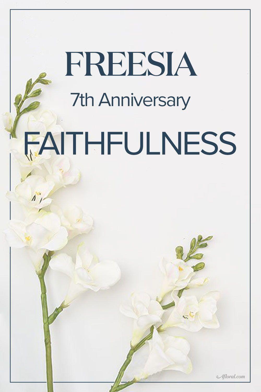 7th Wedding Anniversary Flower Anniversary Flowers Anniversary Gifts Year Anniversary Gifts