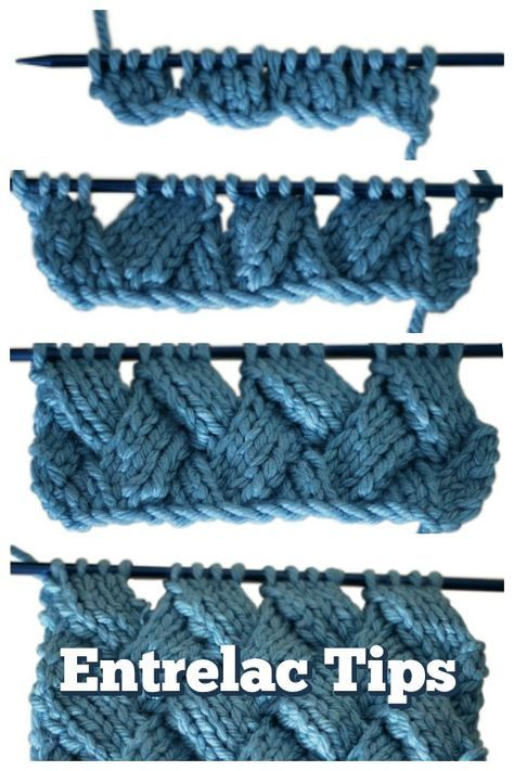 You Can Knit Entrelac - We\'ll Show You How | Stricken, Strickmuster ...