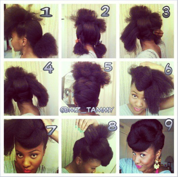 Super 1000 Images About Natural Hair Updos On Pinterest Protective Short Hairstyles For Black Women Fulllsitofus