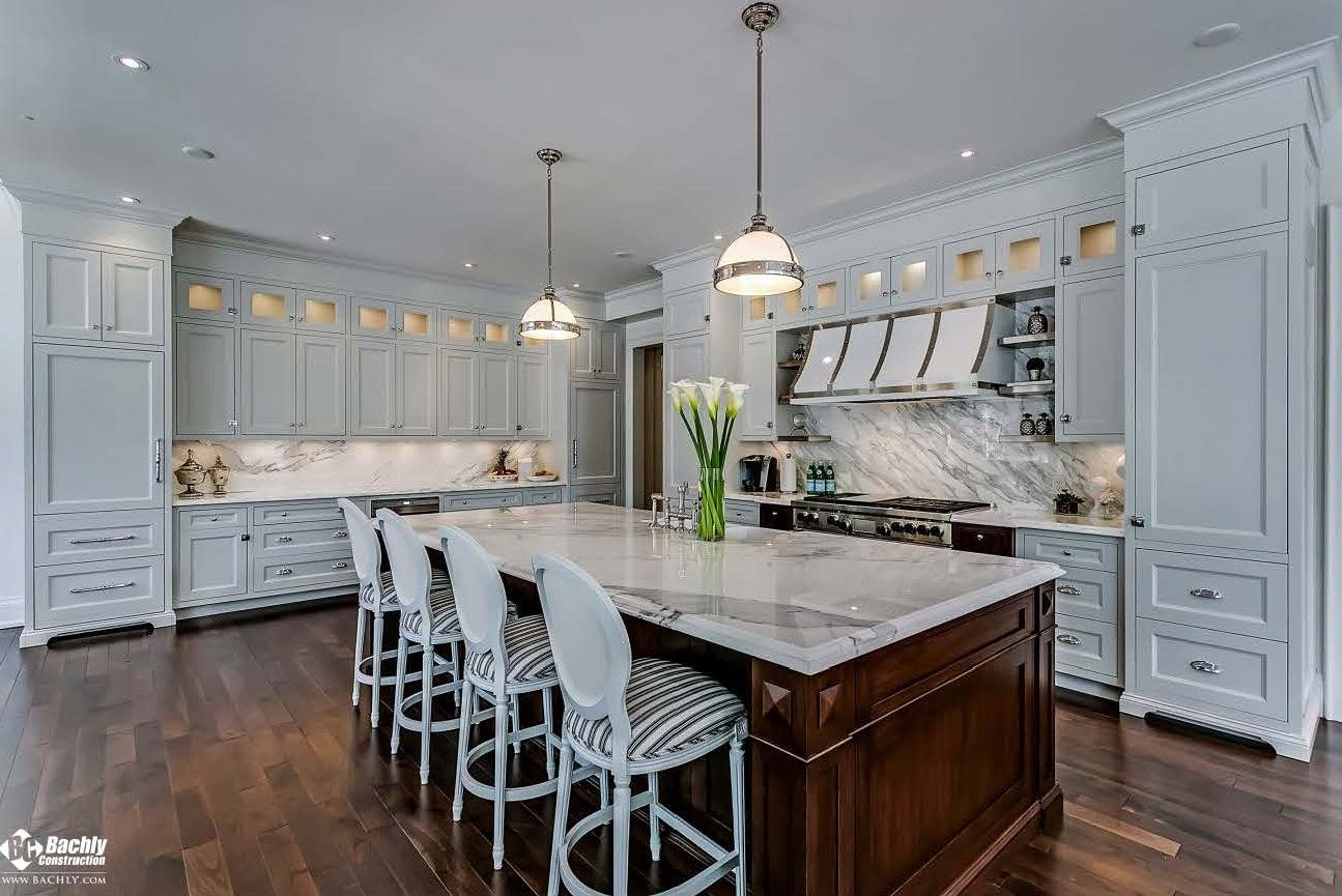 Pin By Bachly Construction On Kitchen Dining Home Kitchens Home Spacious Kitchens
