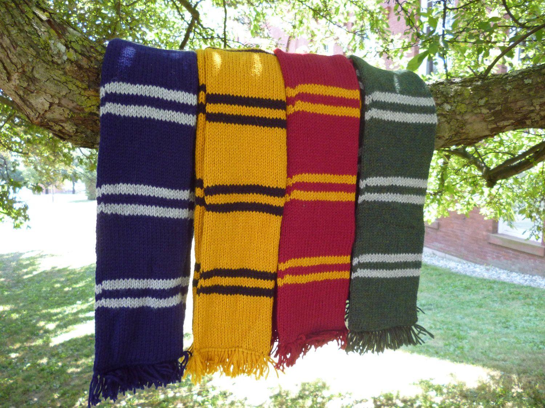 Harry Potter inspired House Scarf: Gryffindor