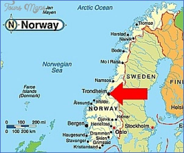 Nice Trondheim Norway Map Tours Maps Pinterest Norway Map - Norway map picture