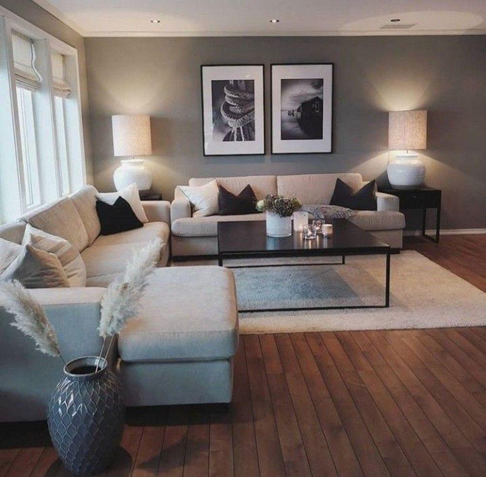 30+ Beste minimalistische Wohnzimmer Interior Design-Ideen, die Sie ausprobieren…