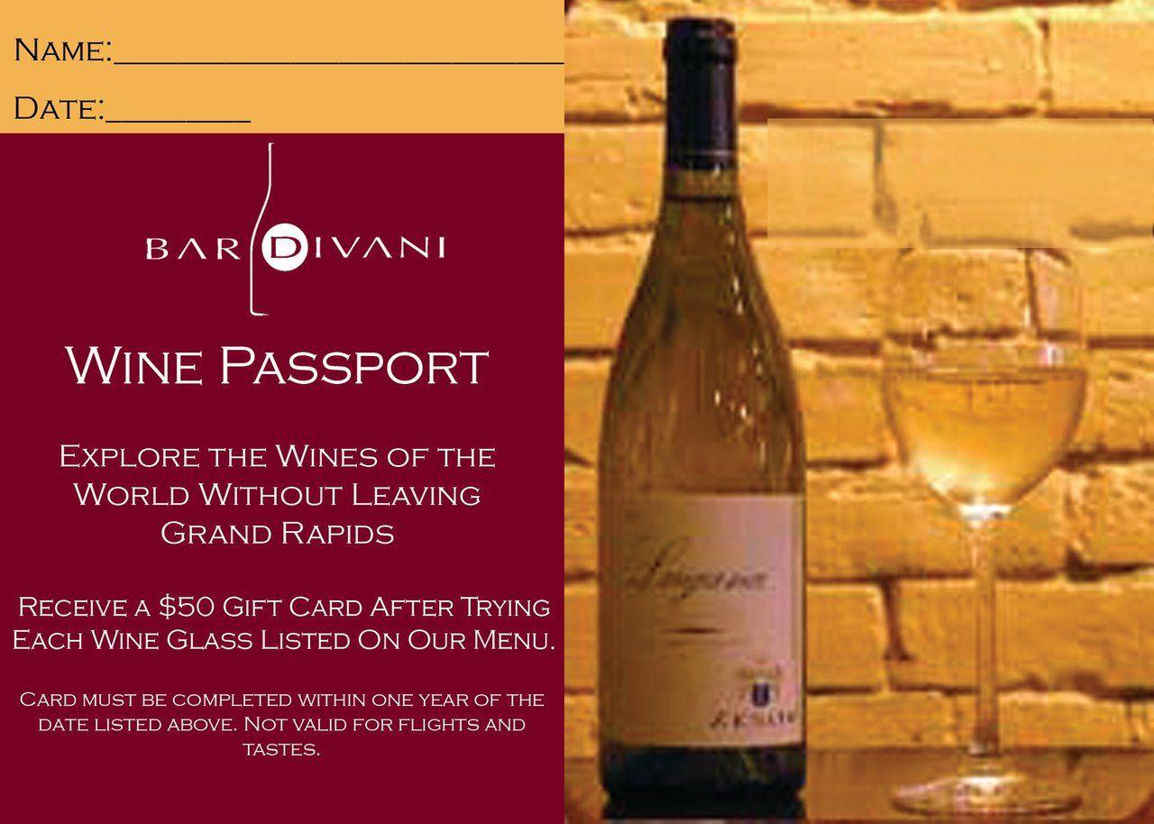Rachael V S Copy For Bar Divani S Around The World Promotions Wine Wine Passport Wines
