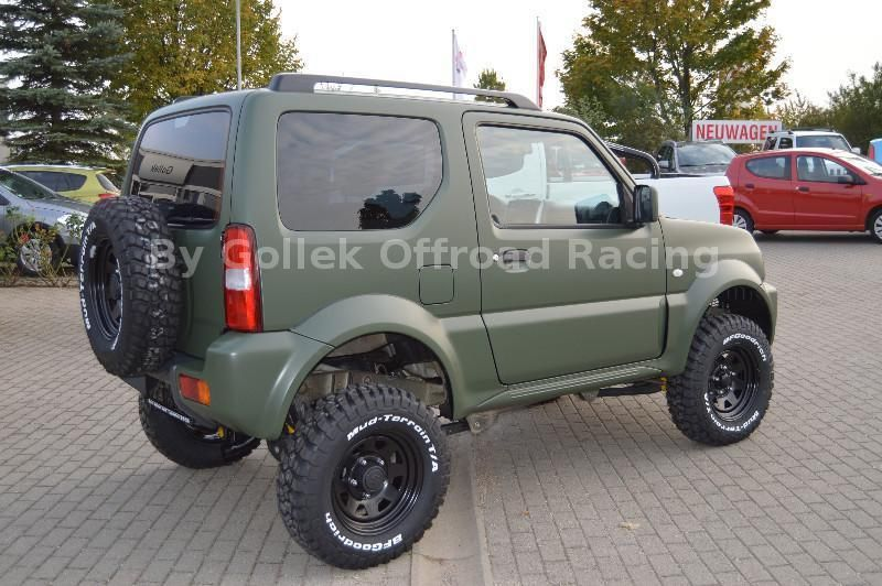 suzuki jimny club extreme series foliert als gel ndewagen pickup in wei enfels suzuki. Black Bedroom Furniture Sets. Home Design Ideas