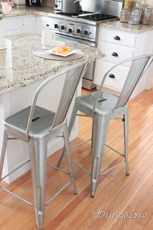 tolix counter stools | HP ave | Pinterest