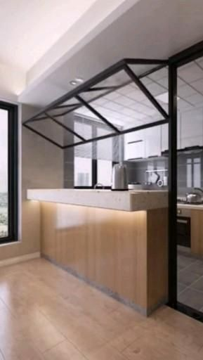 Photo of In this way, the area of the kitchen can be doubled