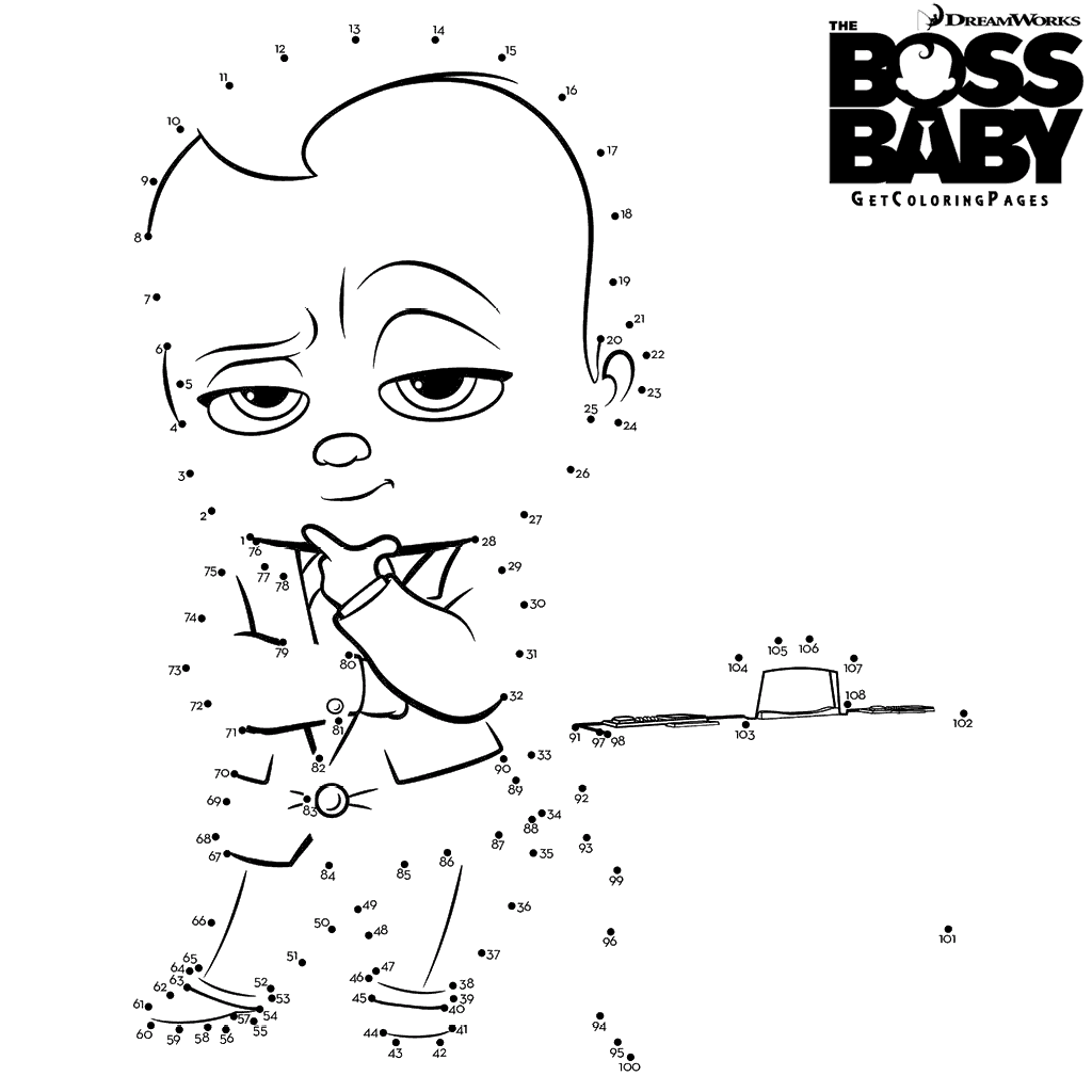 Top 10 The Boss Baby Coloring Pages Baby Coloring Pages