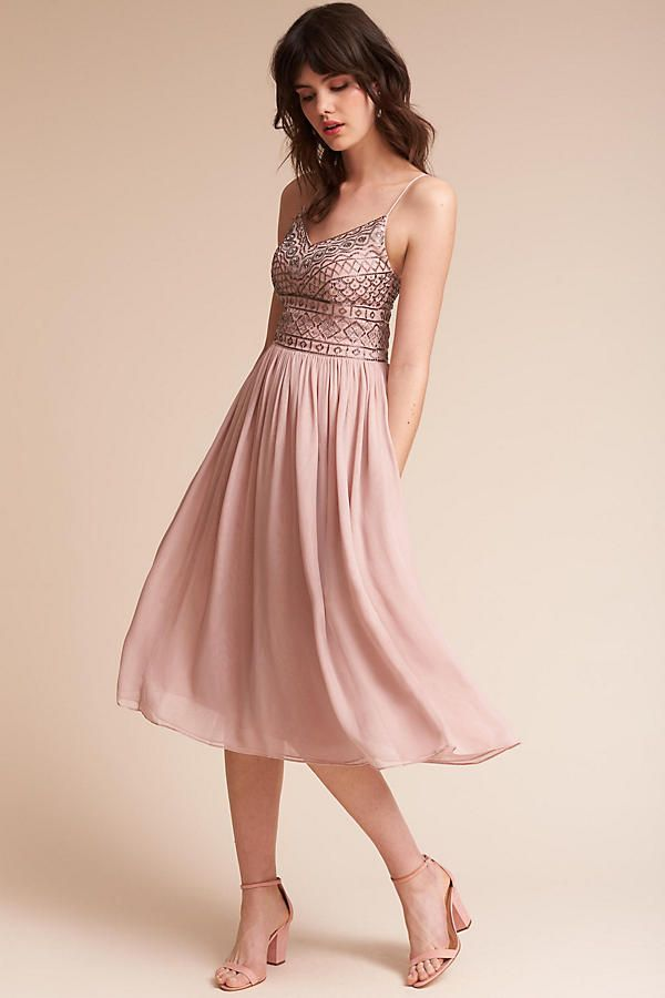 Anthropologie | Bristol Dress | Beaded bodice and flowing tulle ...
