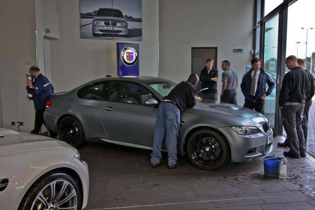 Fantastic day at Sytner Harold Wood...My New M3 + Frozen Grey ...