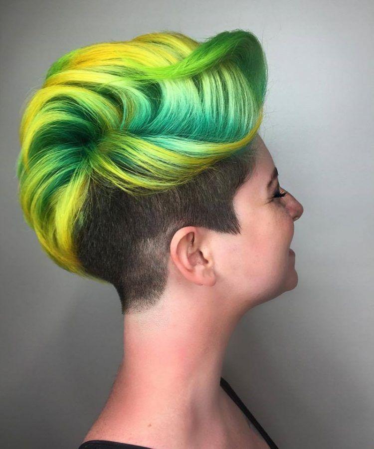 Wow 10 Sehr Gewagte Und Extrem Kurze Frisuren Diese Frauen