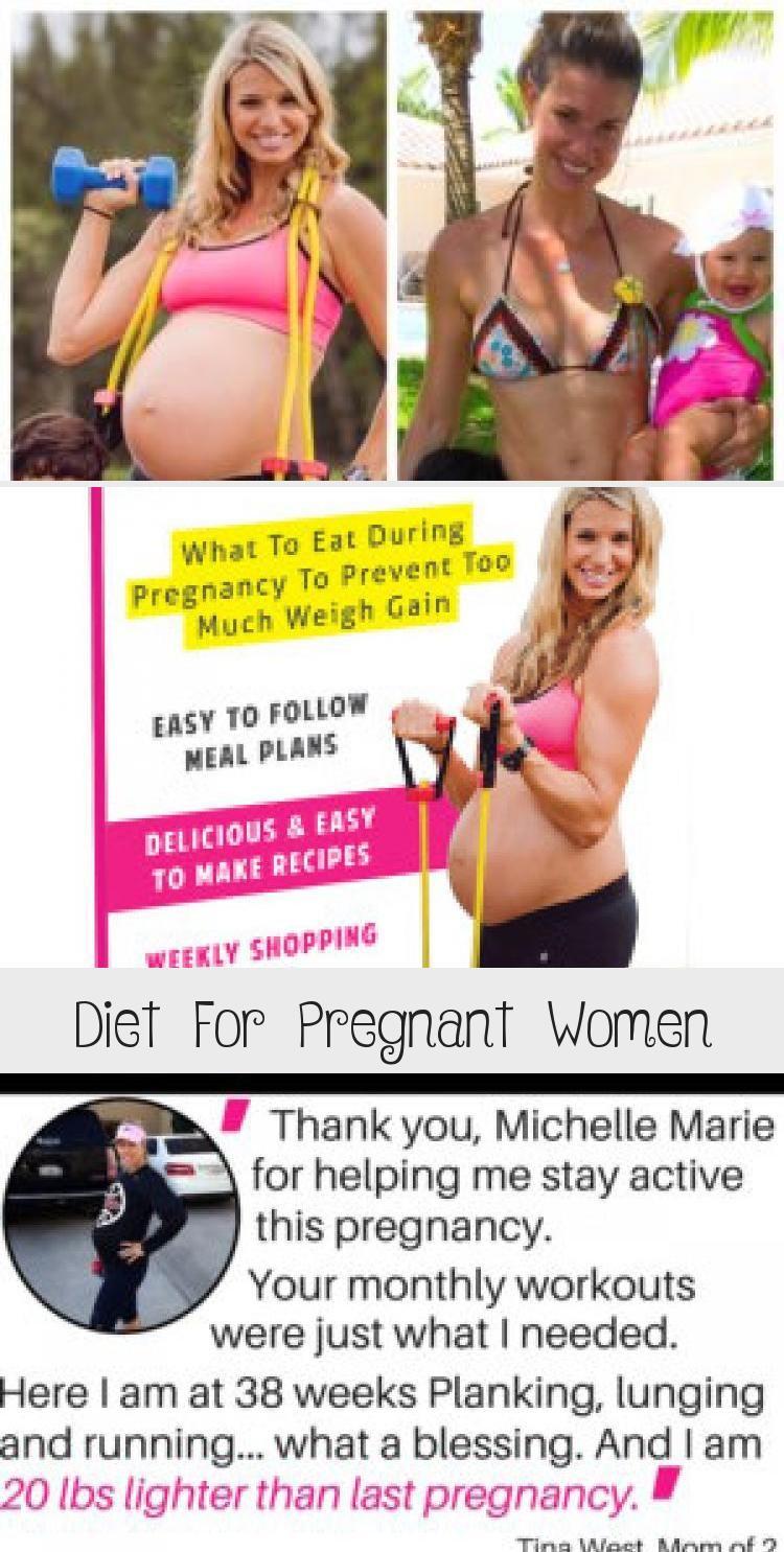 Diät für Schwangere – Michelle Marie Fit #pregnancy #pregnancydiet #pregnan …   – Schwanger