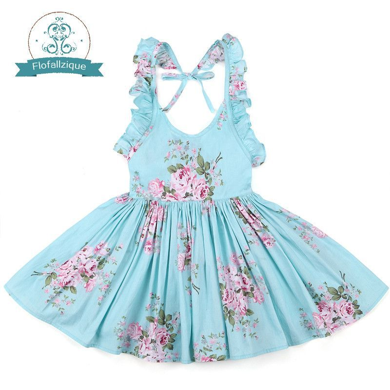 593f45c70ade Item specifics Department Name: Children Gender: Girls Model Number:  FLODR16B Dresses Length: