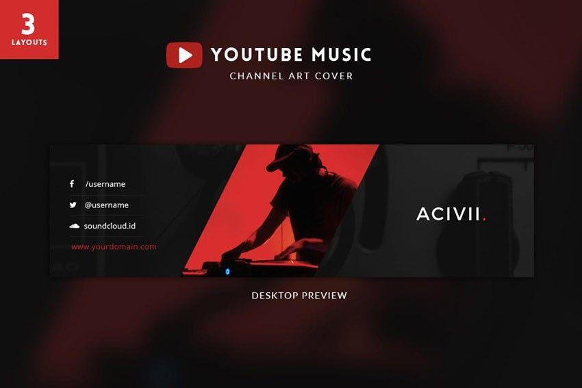 Template Banner Youtube Keren The Biggest Contribution Of Template Banner Youtube Keren To H Youtube Channel Art Channel Art Youtube Banner Template