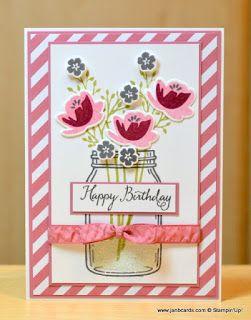 JanB Handmade Cards Atelier: Jar of Love Card 2