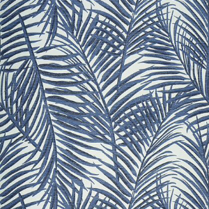 Thibaut West Palm Wallpaper in Blue and White in 2020