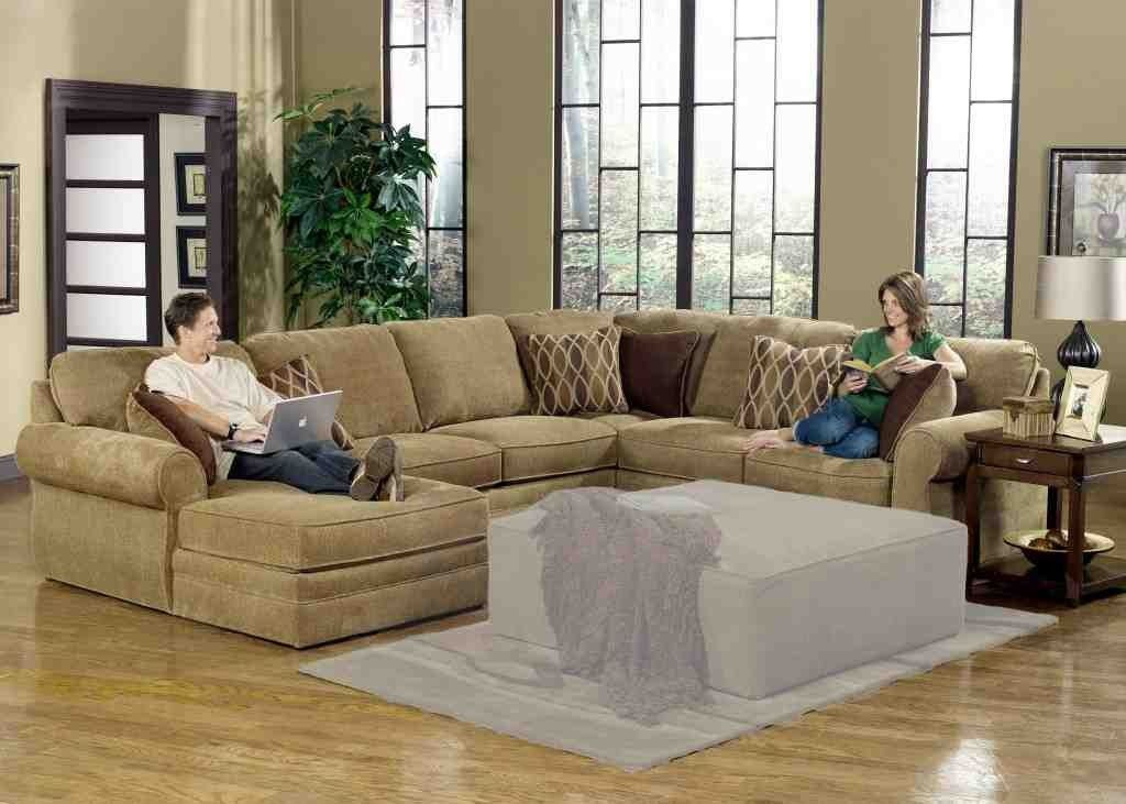 Large U Shaped Sectional Sofa Sectional Sofa With Recliner