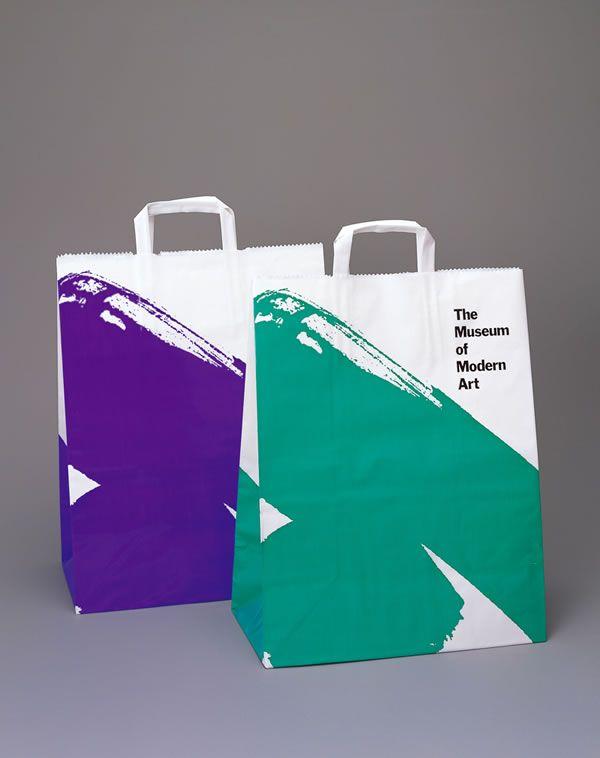 MoMA Shopping Bag 1988  MaterialPlasticSizeW330 x H420 x D175 mmClientThe Museum of Modern Art, New York