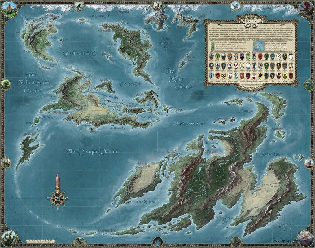 Pin by Ken R. on RPG Fantasy Maps (With images) Fantasy