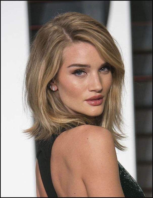 mittellange haare frisuren pinterest - modische frisuren