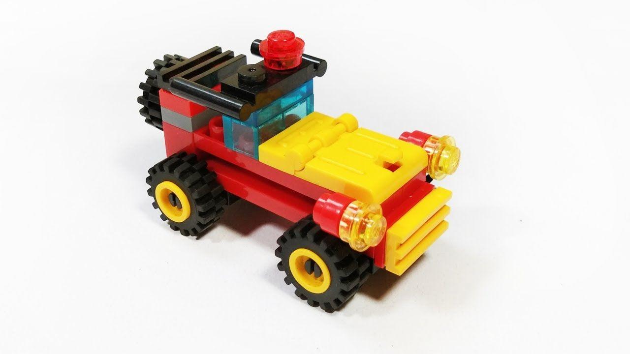 Lego Mini Jeep Car Tutorial Lego Creator Brick Building Blocks Lego Jeep Mainan