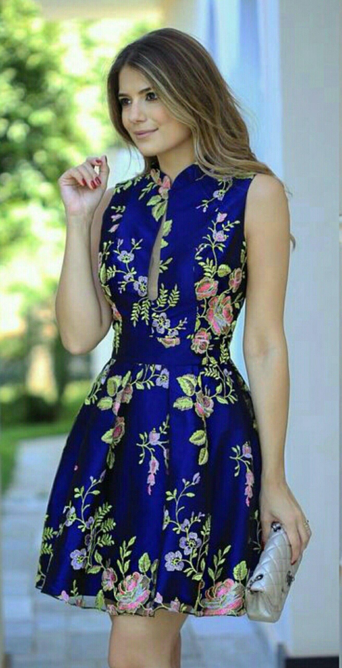 Vestidos cortos modernos y bonitos