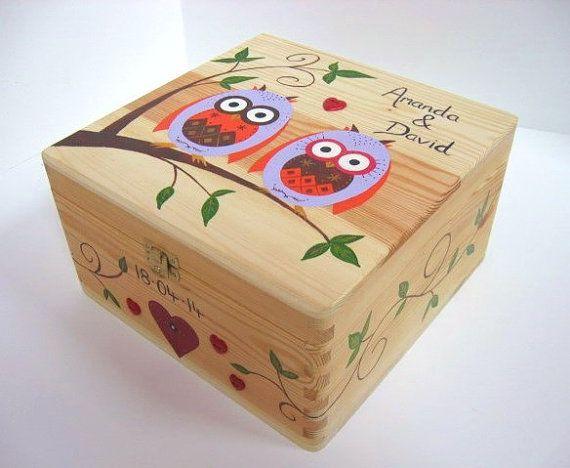 Wedding memory box, Wedding keepsake box, Wedding or Anniversary ...