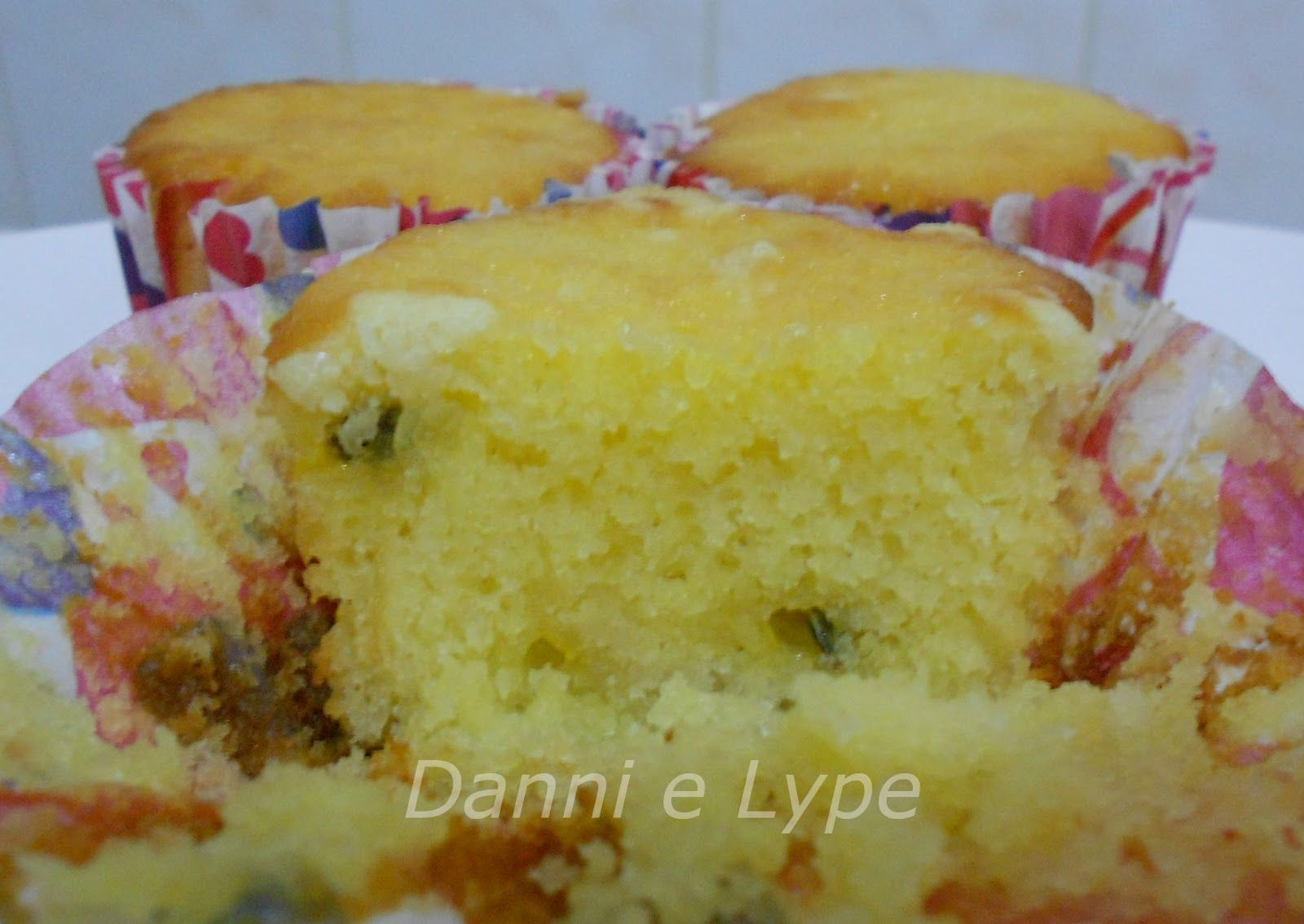 Danni e Lype: Cupcake de Maracujá Crocante