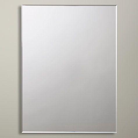 Marvelous Buy John Lewis Bevelled Edge Bathroom Mirror Online At Johnlewis.com