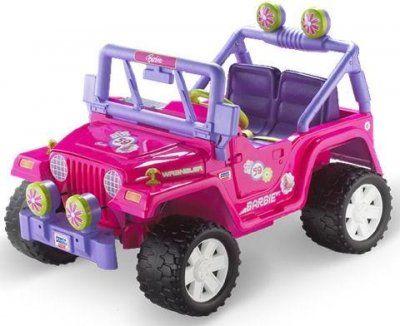 Pink Barbie Jeep Power Wheels Barbie Car Barbie