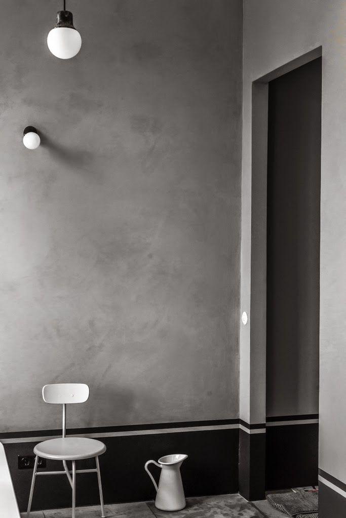 Berlin   Une salle de bain grise   Salle de bains gris, Berlin et Gris - Plinthe Salle De Bain