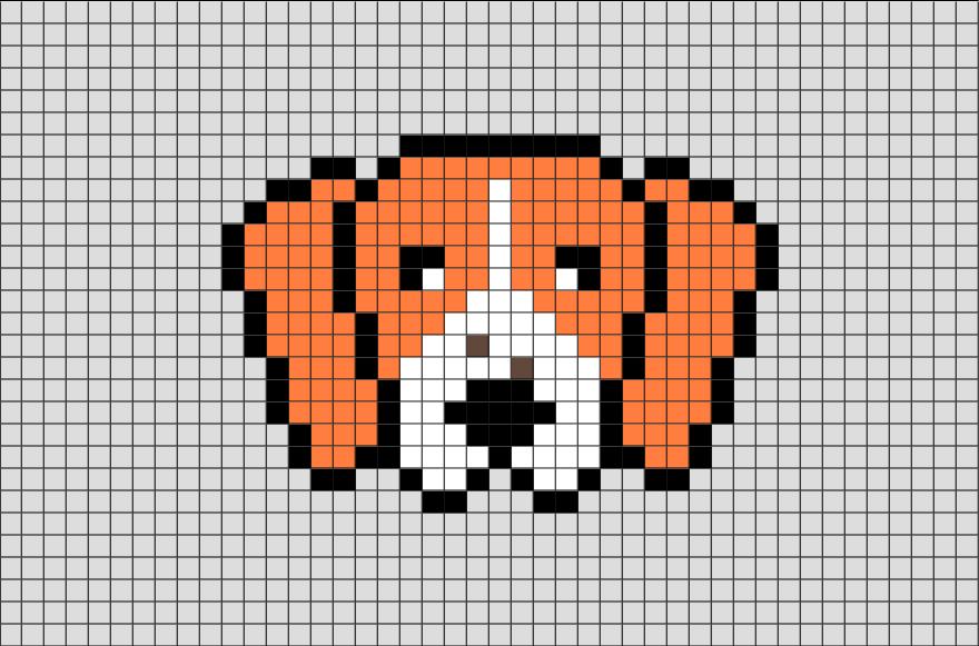 images?q=tbn:ANd9GcQh_l3eQ5xwiPy07kGEXjmjgmBKBRB7H2mRxCGhv1tFWg5c_mWT Pixel Art Dog @koolgadgetz.com.info